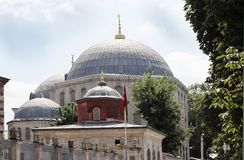 Outside Hagia Sophia Istanbul Turkey Stock Images
