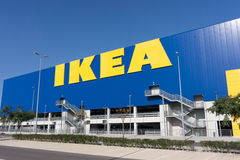 Outside of an Ikea Store Stock Photography