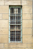 Outside of a jail cell building Stock Images