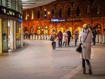 Outside Kings Cross Station Royalty Free Stock Image
