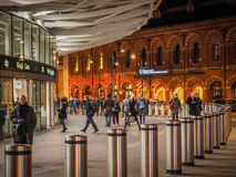 Outside Kings Cross Station Royalty Free Stock Photos
