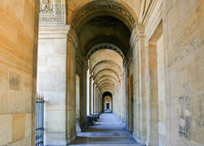 Outside the Louvre, Paris Royalty Free Stock Photography