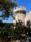 This fortress on the Greek Island of Rhodes was the headquarters and palace of the Grandmaster of the Knights of St John. From the outside, the magnificent stock images