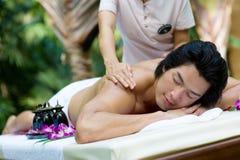 Outside Massage Royalty Free Stock Photo