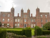 Outside melford hall in long melford suffolk mansion manor overc Stock Image