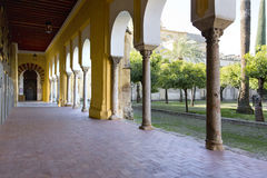 Outside the Mezquita of Cordoba royalty free stock photography