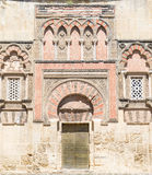 Outside the mosque of Cordoba. Stock Photos
