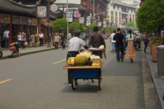 Outside Old City Shanghai Stock Photos