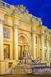 Outside of a pandal replica Trevi Fountain Royalty Free Stock Images