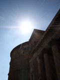 Outside the Pantheon Stock Images