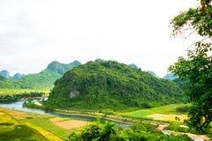 Outside Phong Nha Ke Bang natural preserve, Vietnam Stock Photos