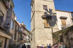 Outside Picasso Museum Stock Photography