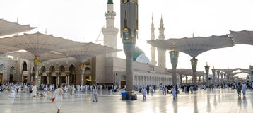 Outside of the prophet mosque Stock Photo