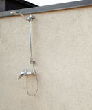 Outside rain shower Royalty Free Stock Images