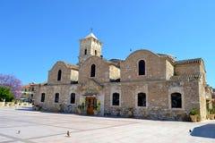 Outside  Saint Lazarus church. Saint Lazarus church in Cyprus Stock Photography