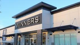 Outside shot of Winners store