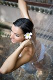 Outside Shower Royalty Free Stock Photos