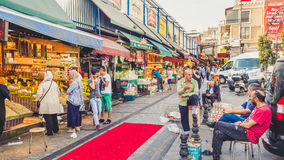 Outside of Spice market bazaar. Stock Images