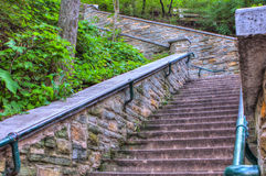 Outside Staircase Royalty Free Stock Images