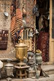 Outside street shop in Old City Royalty Free Stock Image