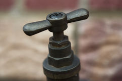 Outside Tap Stock Photography