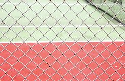 Outside tennis court Stock Photography