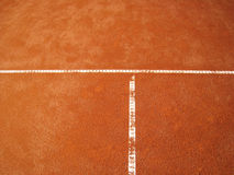 Tennis court t-line  (67) Stock Image