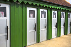 Outside toilet block building Stock Photography