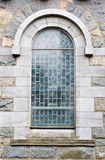 Outside View of Church Window Royalty Free Stock Photo