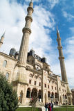 Outside view of Edirne  Selimiye Mosque Stock Photography