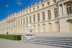 Outside view of Famous palace Versailles Royalty Free Stock Photography