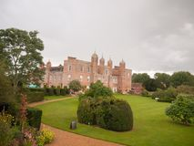Outside view of melford hall mansion estate long melford england Stock Image