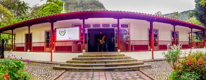 Outside view from Museum Quinta Simon Bolivar Royalty Free Stock Image