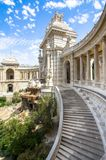 Palais Longchamp in Marseille, France. Outside view of Palais Palace Longchamp, Marseille, France stock photography