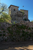 Outside view of Pirot Fortress, Serbia Royalty Free Stock Photography