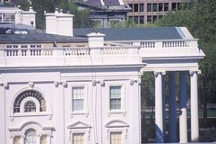 Outside View of Private Quarters. The White House, Washington, D.C royalty free stock image