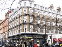 Outside view of pub in London Stock Photos