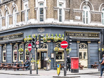 Outside view of pub in London Stock Image