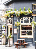 Outside view of pub in London Royalty Free Stock Photography