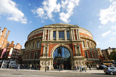 Outside view of Royal Albert Hall on sunny day Stock Photo