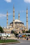 Outside view of Selimiye Mosque Built between 1569 and 1575 in city of Edirne, East Thrace, Turke stock images