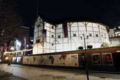 Outside view of Shakespeare's GlobeTheatre Royalty Free Stock Photo