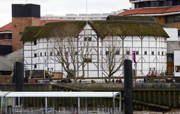 Outside view of Shakespeare's GlobeTheatre Stock Image