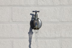 Outside water tap Royalty Free Stock Photos