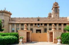 Outside widok Umaid Bhawan pałac Rajasthan Obraz Royalty Free