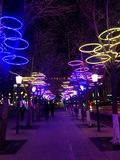 Outside wieczór w Chiny zdjęcia royalty free
