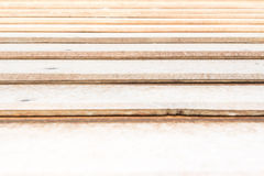 Outside wooden wall Royalty Free Stock Photos