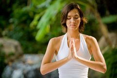 Outside Yoga Stock Photography
