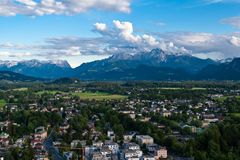 Outskirt of Salzburg Austria Stock Images