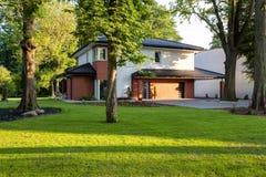 Outskirts резиденция стоковое изображение